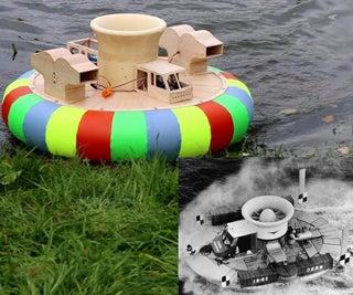 Radio Controlled Hovercraft SRN1