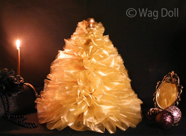 Boudoir Tulle Christmas Tree