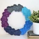 Ombre Paper Wreath
