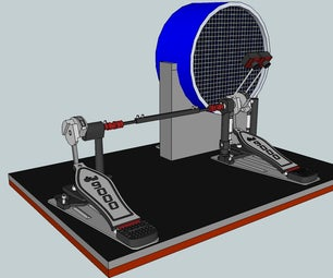 Electronic Bass Drum Concept