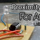 Proximity Sensor for Arduino MCU Using 555 Timer IC