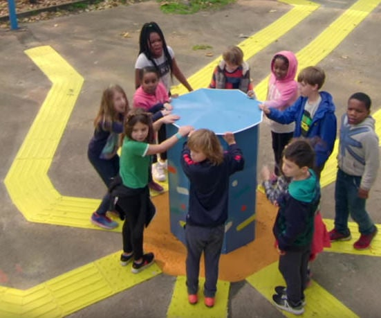 Digital Playgrounds - Inclusive for Visually Impaired Children
