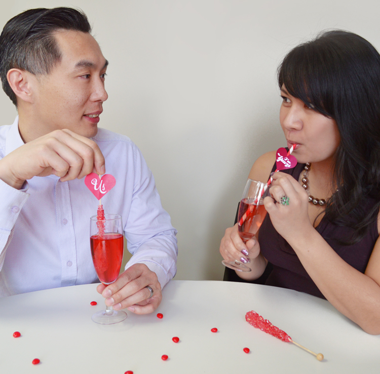 Cheers to Valentine's Day!