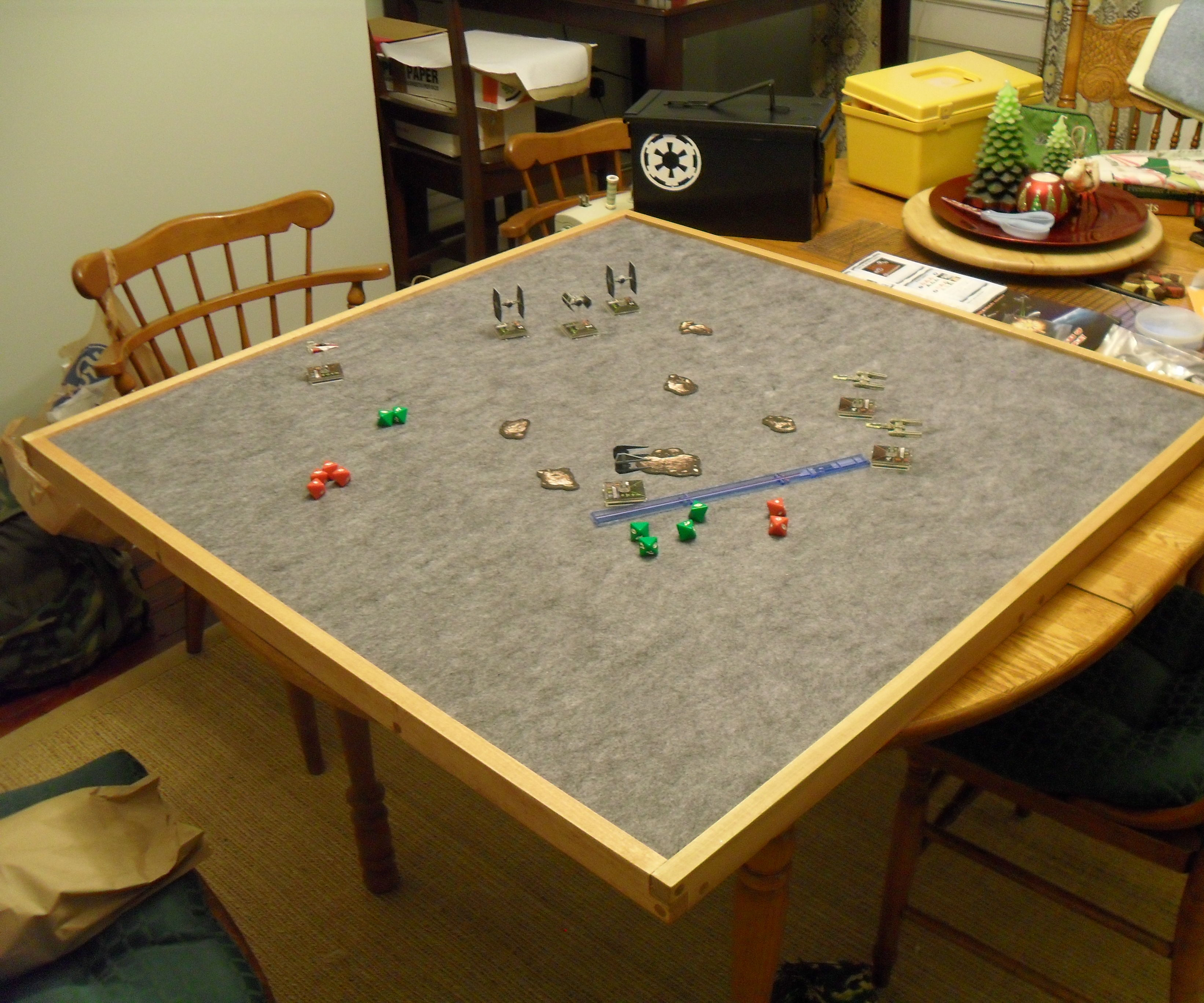 Table Top Gaming Table Top 10 Steps With Pictures Instructables