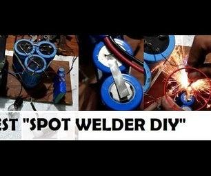 "Best Lithium Ion Battery Tab Spot Welder ""NO Super Capacitor"" DIY"