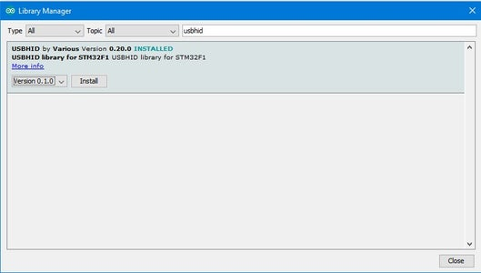 Prepare Stm32duino in Arduino IDE