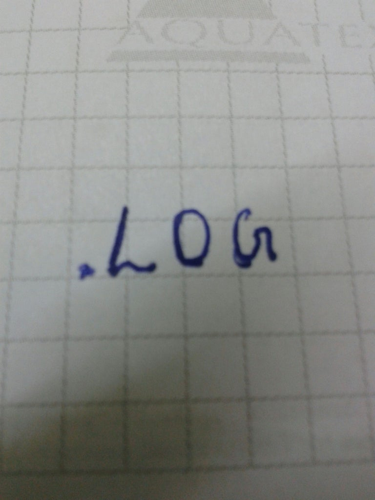 Make Your Own Log History Simply Using Notepad
