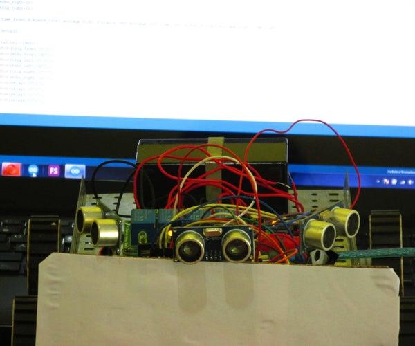 Obstacle Avoiding Robot Using Ultrasonic Sensors