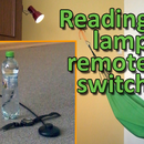 Reading lamp remote switch