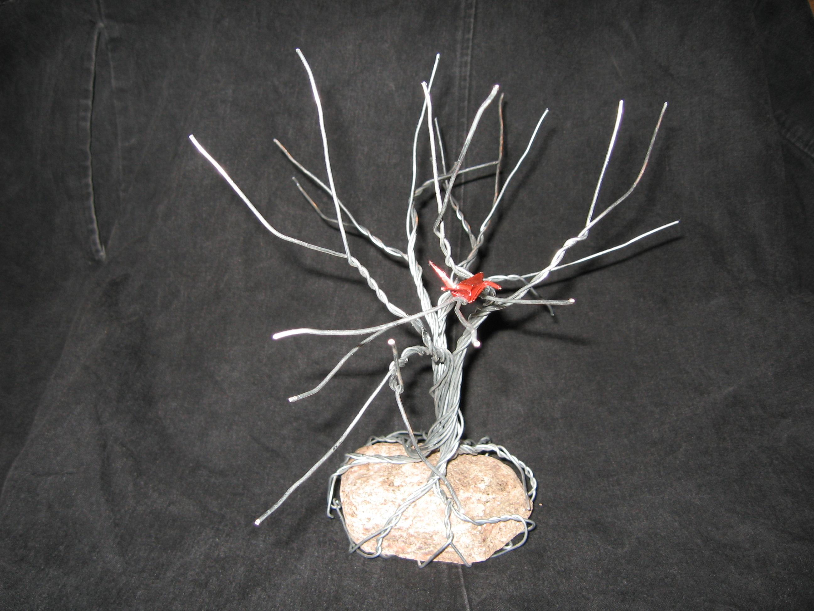 Wire Tree Sculpture