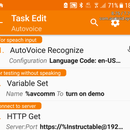 Control Homeassistant With Autovoice