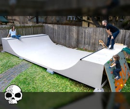 How to Make a Mini Ramp (DIY Halfpipe)