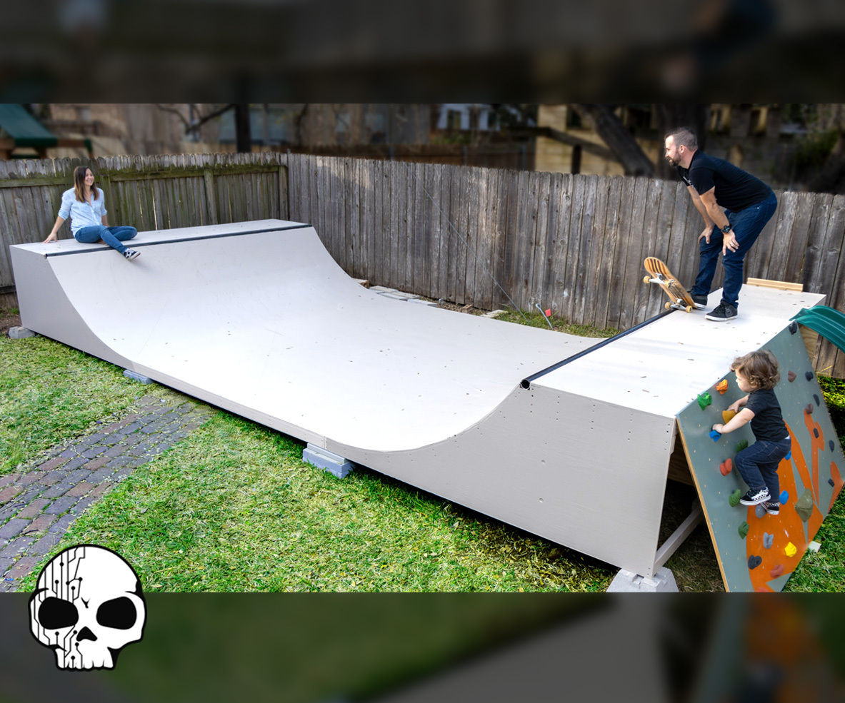 How To Make A Mini Ramp Diy Halfpipe 12 Steps With Pictures Instructables