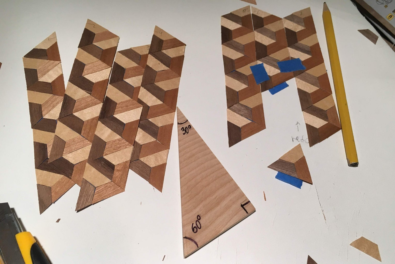 Taping the Trapezoids