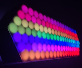 Ambient LED Wall Clock