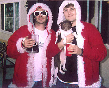 Stylish Santa Hoodie