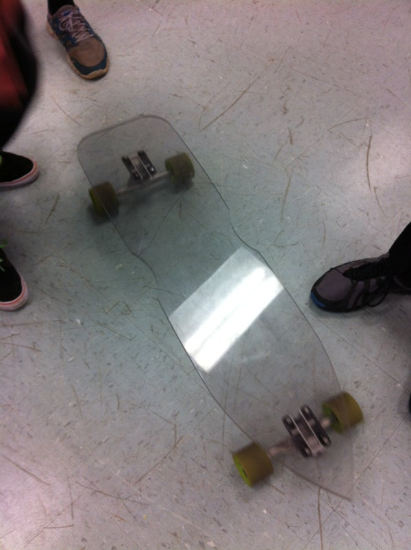 """How to Make a """"Bulletproof"""" Polycarbonate Longboard!"""