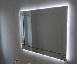 Motion Triggered LED Mirror Back Light