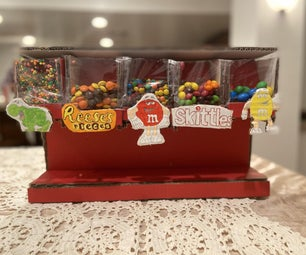 How to Make a Candy Dispenser Out of Cardboard!!!