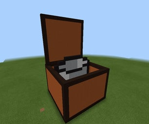 Minecraft Opened Chest