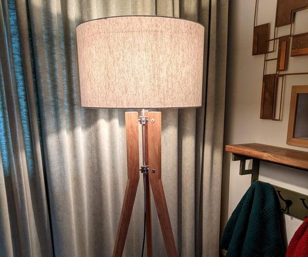 A Tripod Floor Lamp
