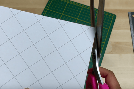 Cutting the Stitched Pieces