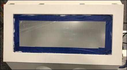 Cut Opening and Install Acrylic in Main Box Door