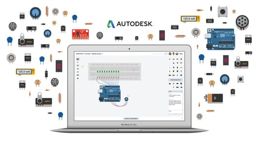 Special Auto-desk Circuit Simulation