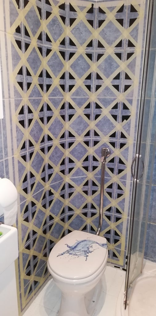 Plan Your Tile Design and Lets Do Masking