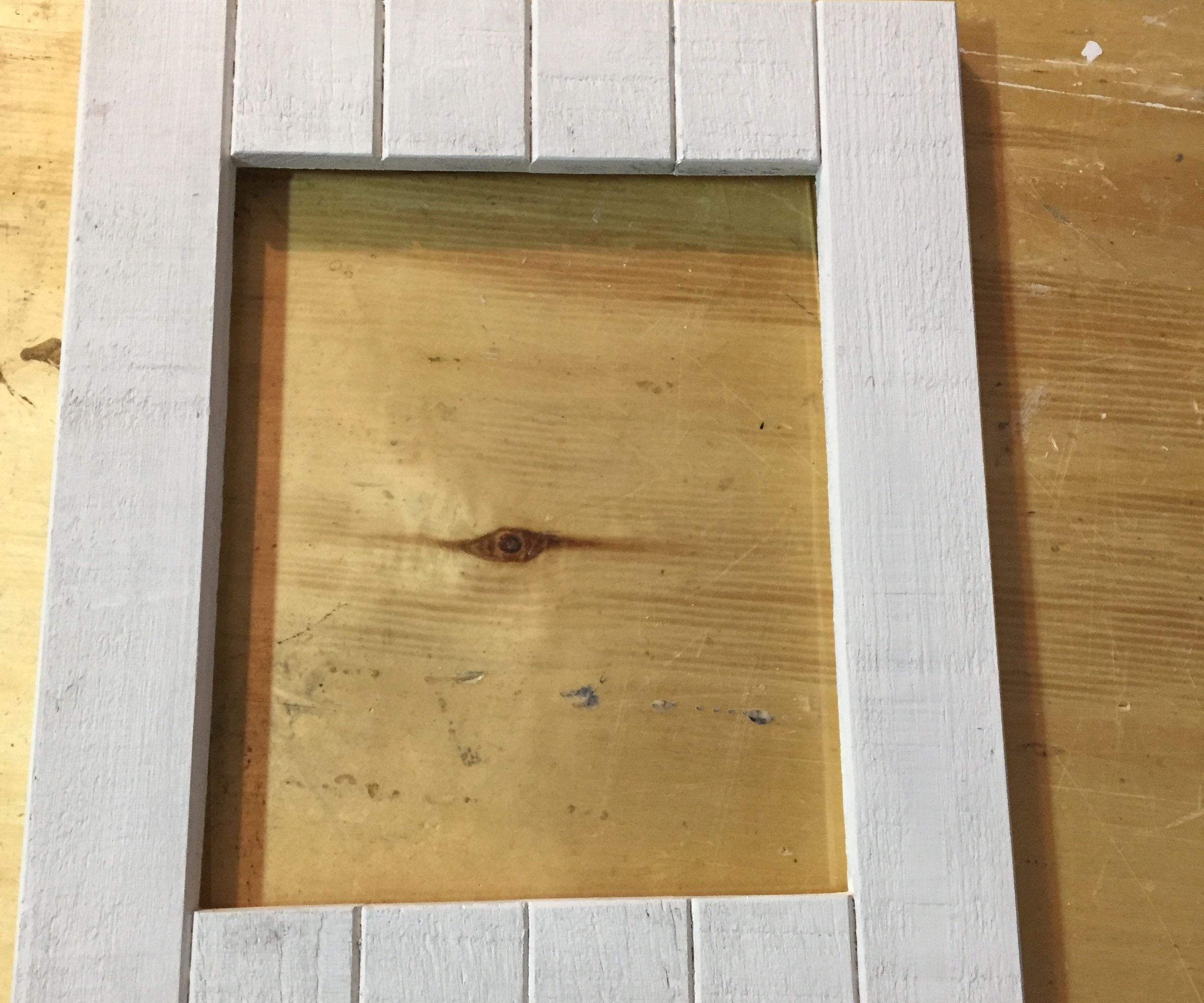 Rustic Wooden Picture Frame