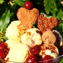 Black Forest Mocha Ice Cream Sundae