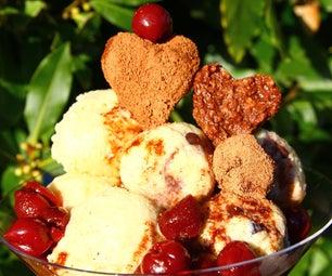黑森林摩卡冰淇淋圣代