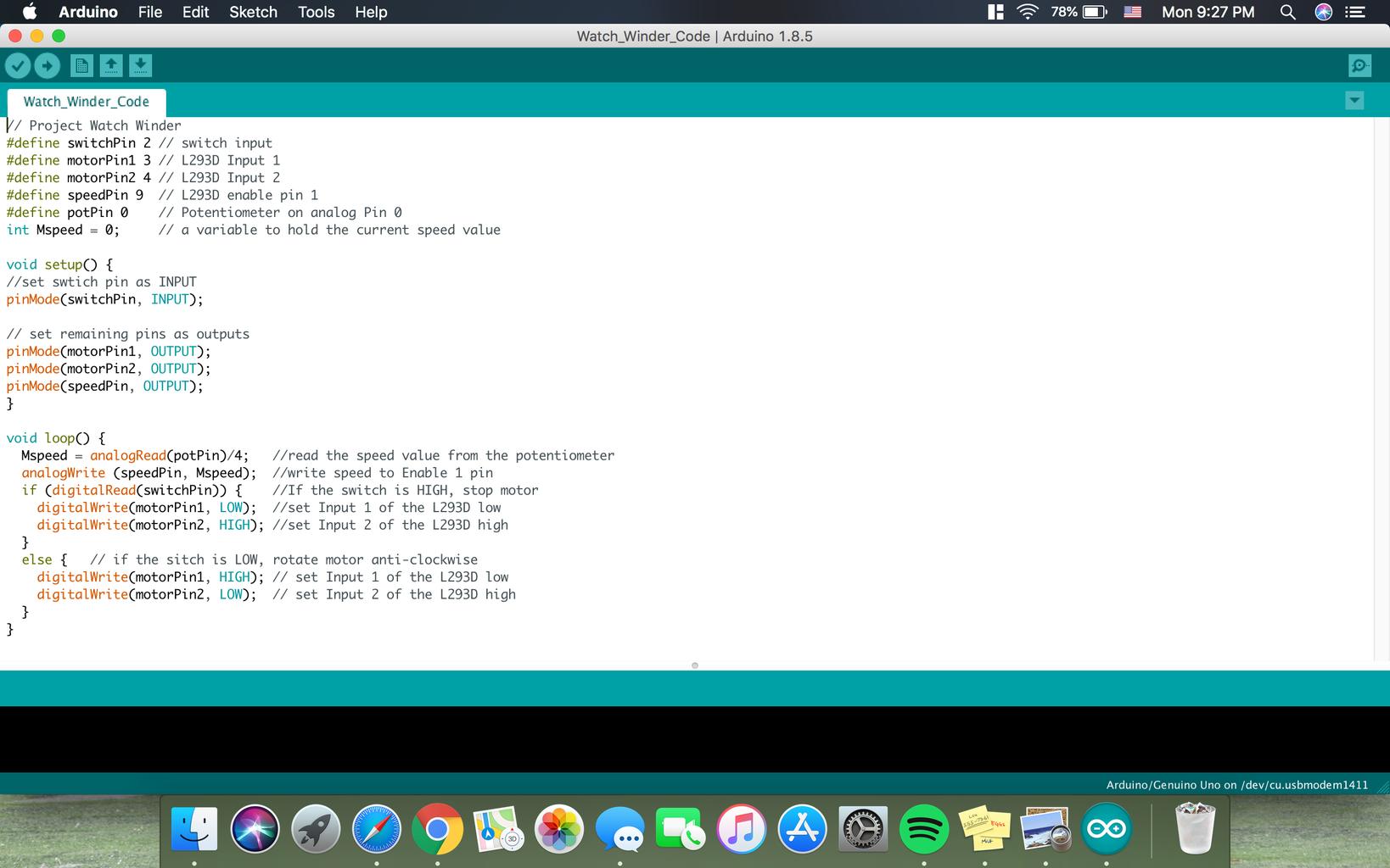 Step 5: Programming the Arduino