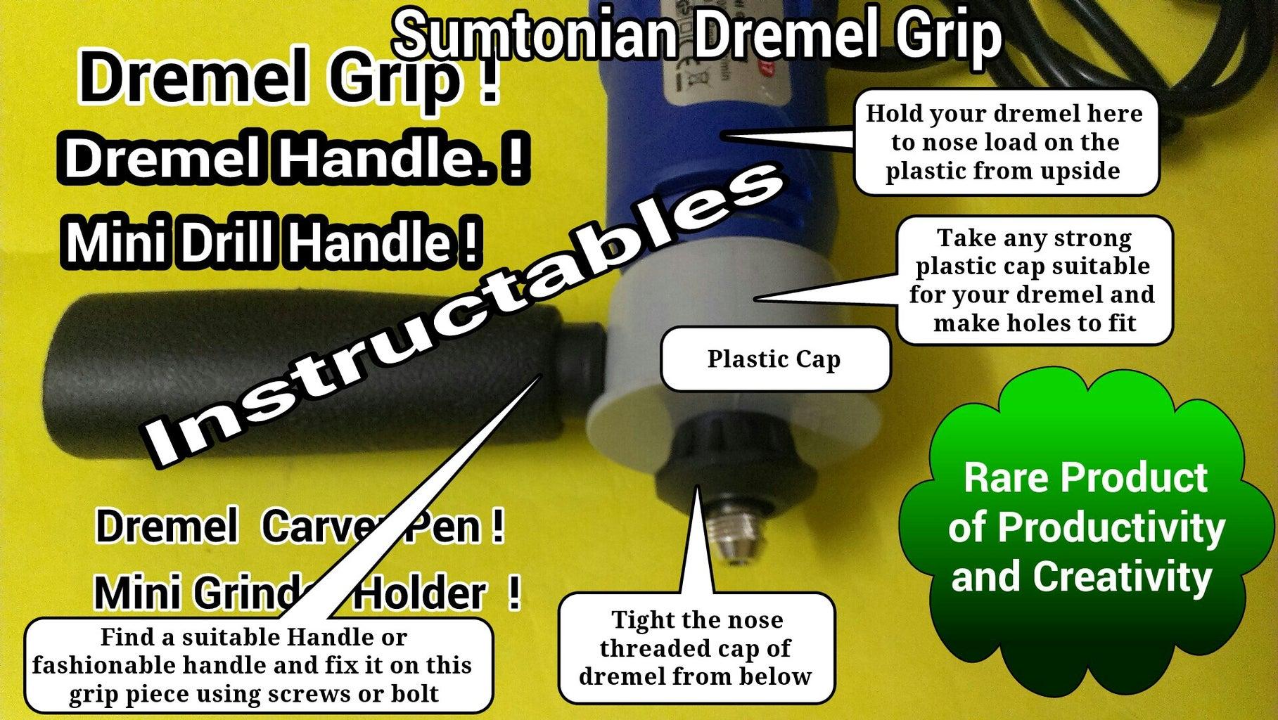 Fixing Plastic Cap on Dremel Removing the Dremel Threaded Cap.
