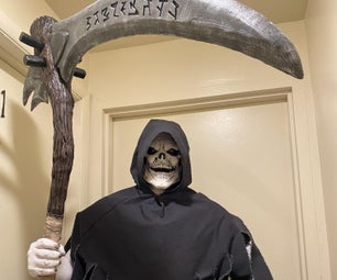 Making a Grim Reaper Costume for Halloween