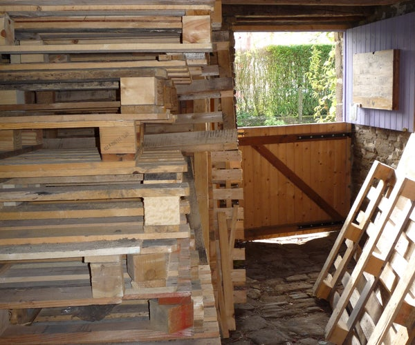 Three Ways to Dismantle Pallets to Obtain Free Wood for Carpentry, Woodworking and Crafts.