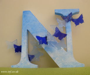 How to Fuse and Mould Acrylic Shapes for Decorating Wooden Letters and More