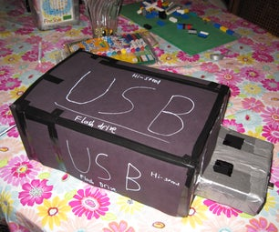 Giant USB Flash Drive