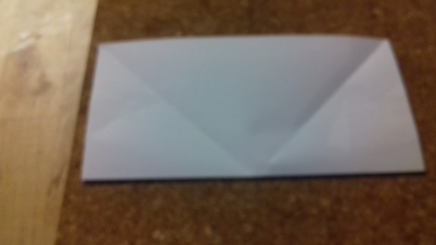 Make a Double  Thickness  Triangle