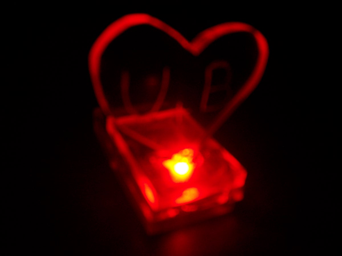 Valentines gift with nifty LED effect
