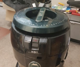 Replacing the Power Cord on a Hyla NST Vaccum Cleaner