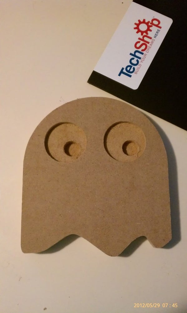 Add Led Eyes to Your Packman Gost