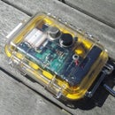 Air quality monitoring device using arduino