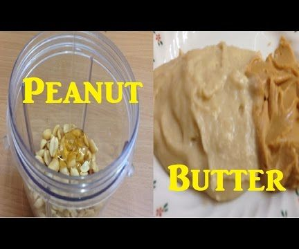 Home Made Organic Peanut Butter