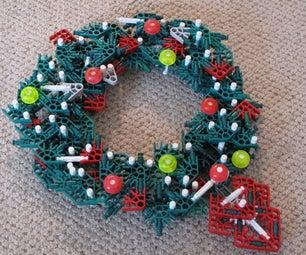Knex Christmas Wreath