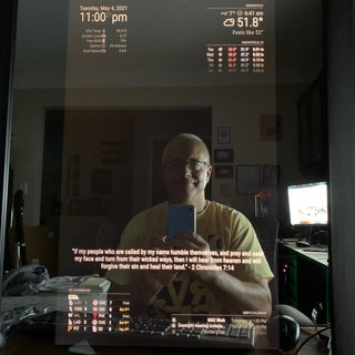 How to Make a DIY Smart Mirror