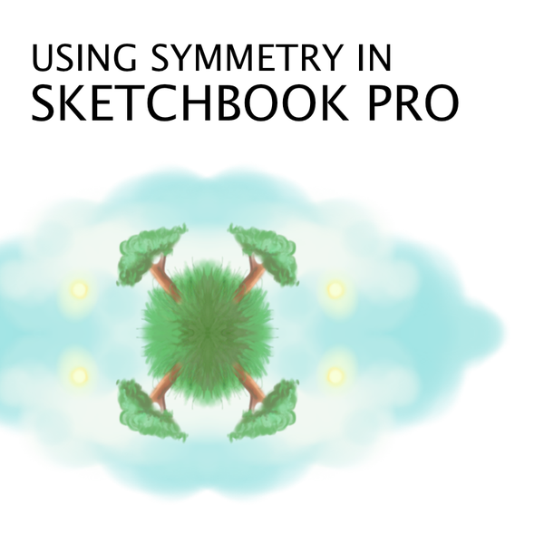Using the Symmetry Tool in SketchBook Pro to Design Clothing