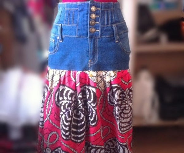DIY Maxi Skirt