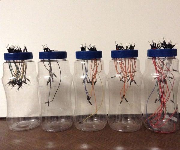 Basics - Organizing Breadboard Jumper Cables
