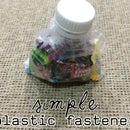 Simple Plastic Fastener